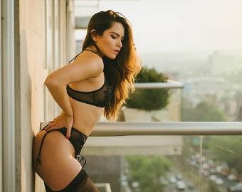 Set lingerie Garterbelt