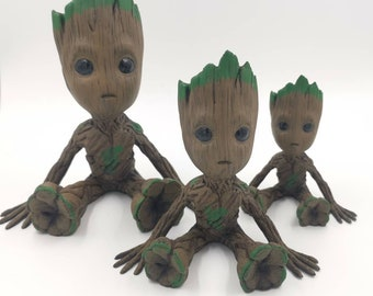 40% off 3D printed and hand painted Baby Groot.