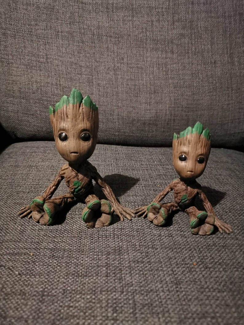 50% off 3D printed and hand painted Baby Groot. image 0