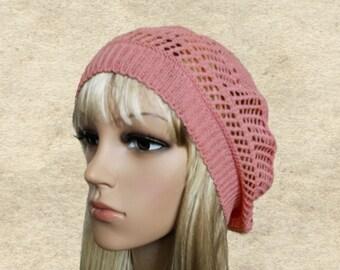 d4ee879b553de Knit lace sun beret
