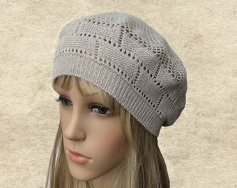 a9fb03fdde3f3 Knit beret women