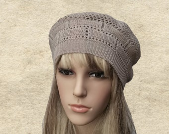 4f6a1969530 Cotton knitted beret