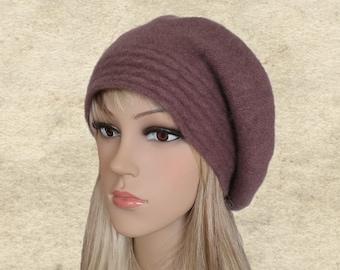 57657e0bd66 Ladies felted beret