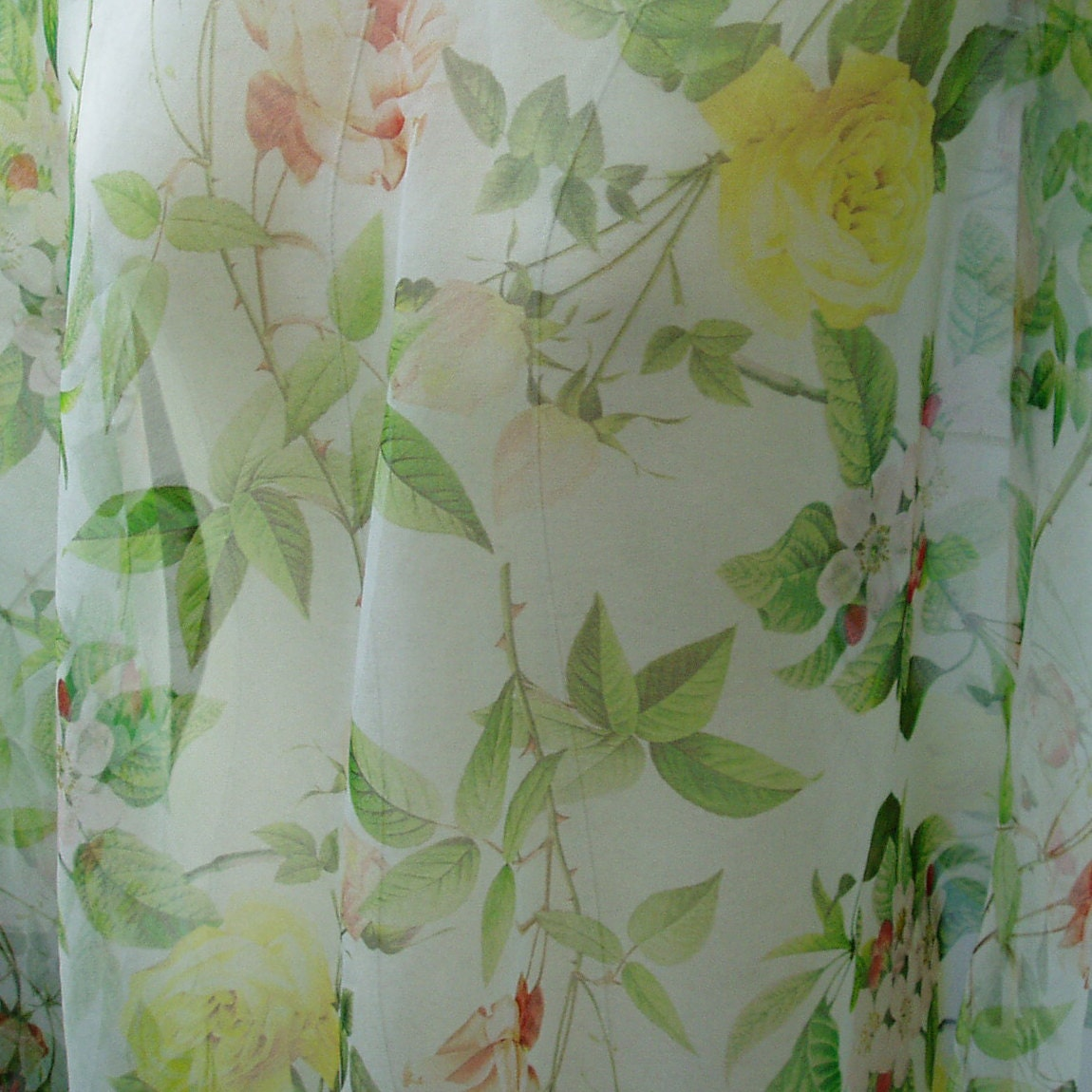 09893ceab79ff pure silk organza fabric floral print pattern 55