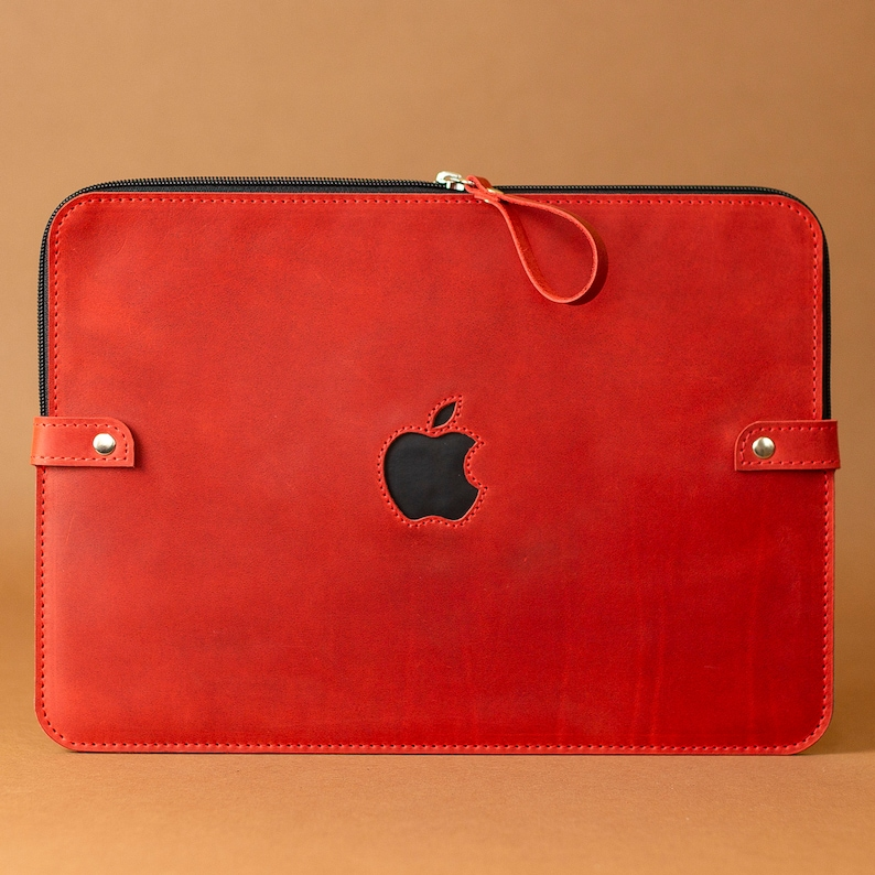 low priced 5fc12 8d2b7 Leather Macbook Pro 13 Case Red Macbook Air 13 Case Felt Macbook Pro 15  Case Personalized Laptop Sleeve Graduation Gifts For Her