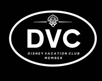 DVC Home Resorts Car Decals