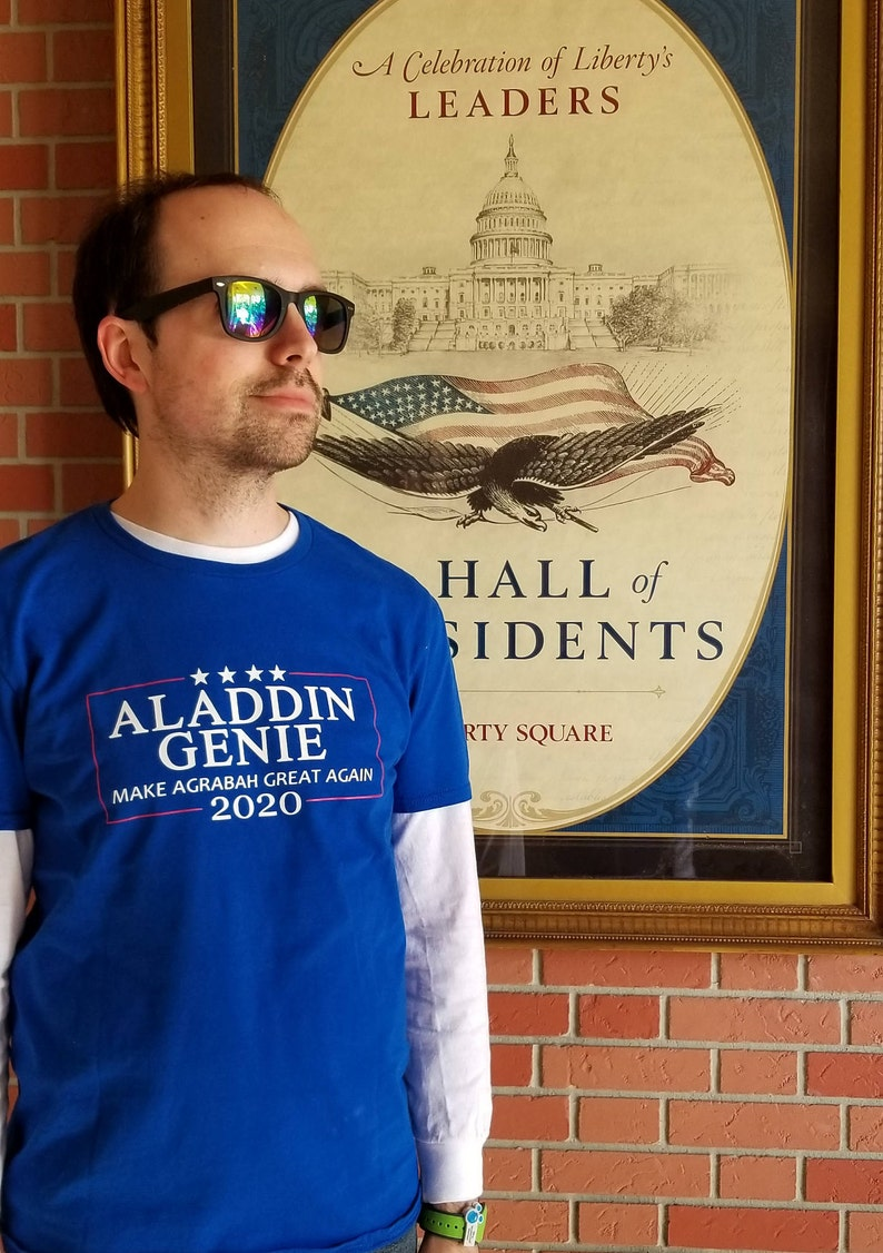 Aladdin Genie 2020 Election Shirt image 0