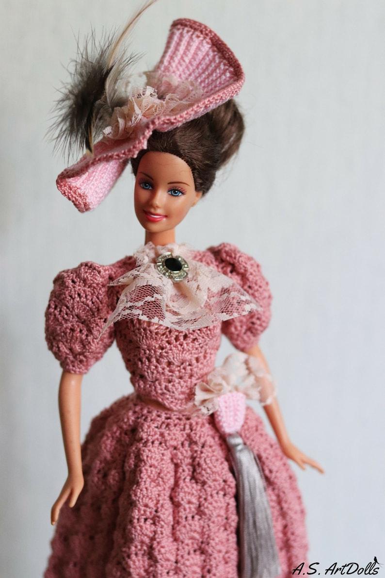 3c9907238 Doll dress Crochet doll dress Visiting doll dress Historical