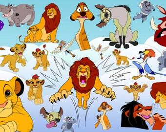 65 le Roi Lion et le Lion garde Clipart les cliparts Roi Lion le Roi Lion le Lion garde Clipart le Lion gardien imprimable imprimable