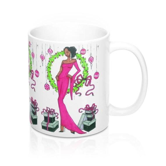 Holiday Glam Mug 11 oz