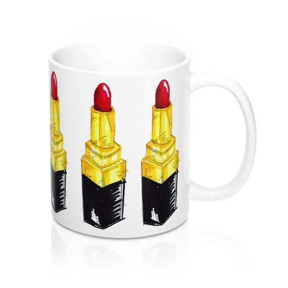 There's Lipstick On My Mug 11Oz