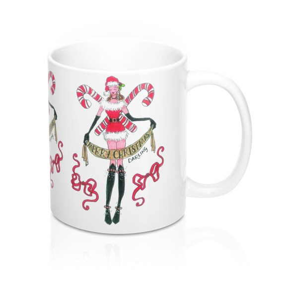 Merry Christmas Darling Mug 11Oz