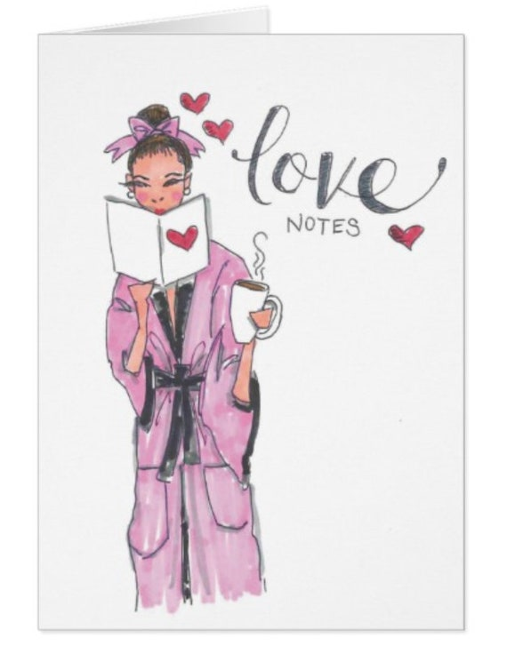 Love Notes Valentine's Card