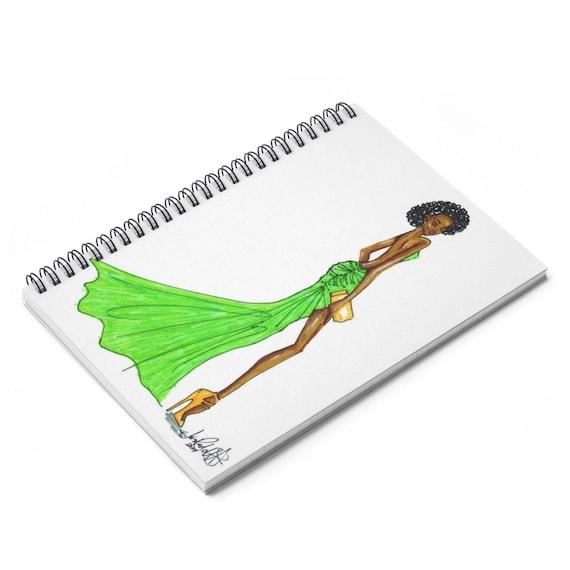 Black Girl Magic Spiral Notebook