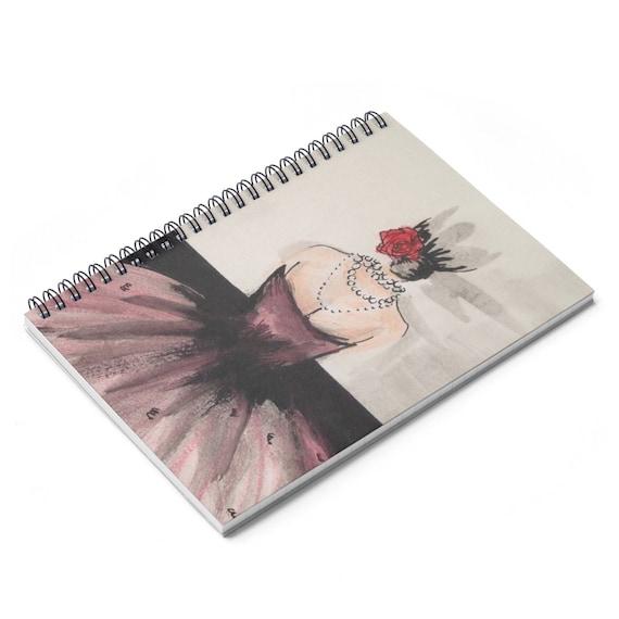 Belle Fleur Spiral Notebook