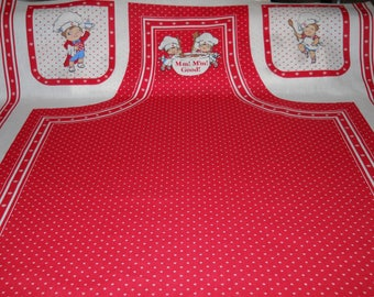 Campbell's Soup Apron Panel Is Back