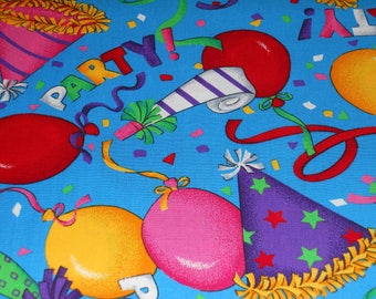Birthday Party Time Fabric