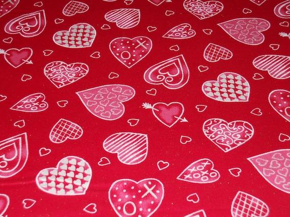 Be My Valentine Fabric Etsy