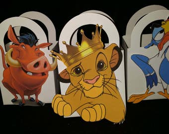 Lion King party box favors 12pcs