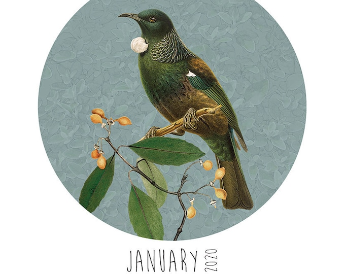 A4 Native Birds Calendar