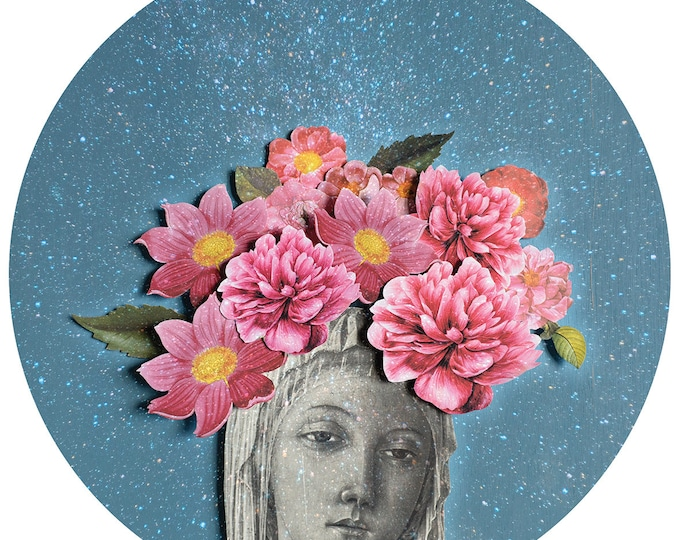 Earth Goddess Wall Sticker