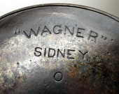 Wagner 10 Cast Iron Pan