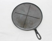 Griswold 9 Cast Iron Griddle