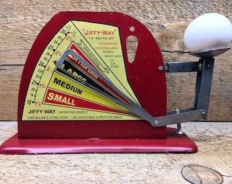 Vintage Jiffy Way Egg Scale