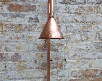 Copper pipe Shower