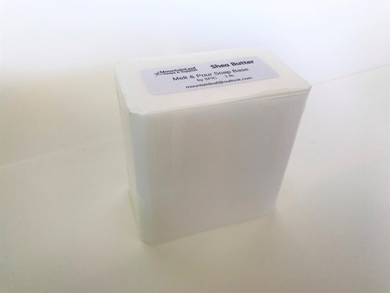SLS and SLES Free Melt and Pour Glycerin Soap Base 1KG Delicate Clear