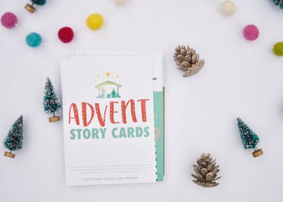 Advent Story Cards Advent Calendar Christmas Countdown