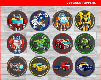 Transformers Topper Etsy