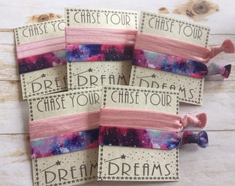Tie dye foe tie dye elastic Tie dye hair ties tie dye headband galactic-5//8