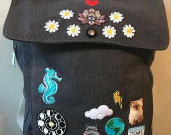 6b027456bd3 Patched TOMS Unisex Trekker Backpack