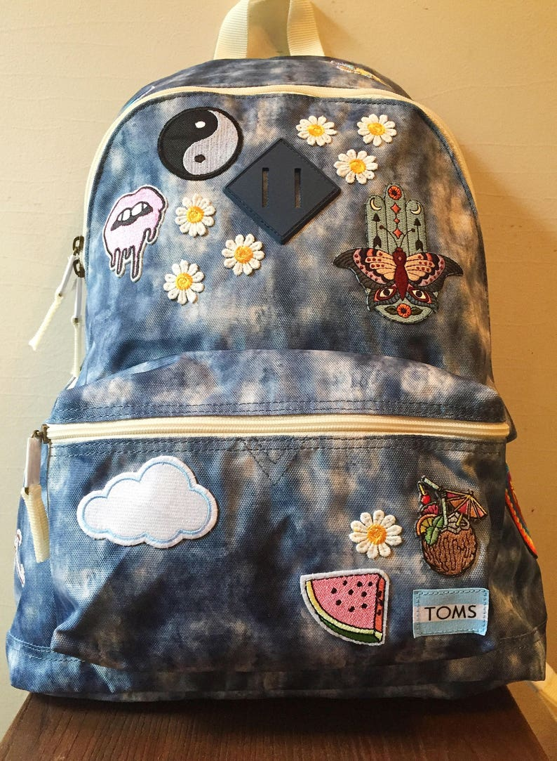 ae8c131b865 Patched Tie-Dye TOMS Backpack