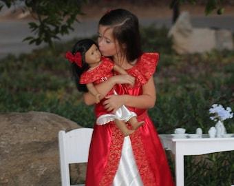 Elena of Avalor Dolly and Me Matching Dress / Elena of Avalor Costume