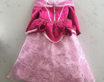 Sleeping Beauty Costume Dress / Princess Aurora Costume Dress