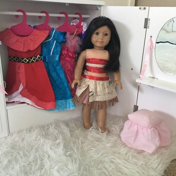 Vestido De La Muñeca De Moana 18 Pulgadas Muñeca Moana Vestido 14 Pulgadas Vestido De La Muñeca