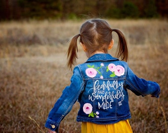 871a9c989b7e Painted denim jacket