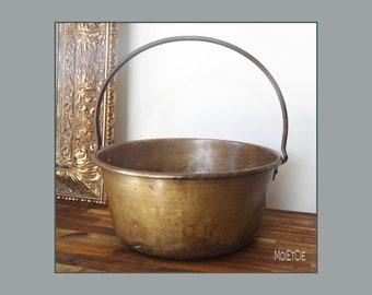 Antique Milk Bucket Etsy