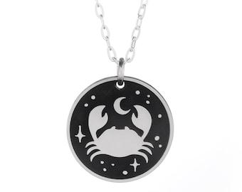Crab Nebula Necklace