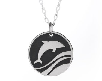 Dancing Dolphin Necklace