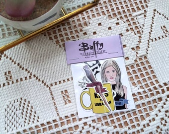 Buffy Vinyl Sticker Pack