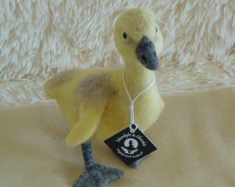Ryan Gosling - needle felted goose