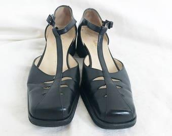 Salvatore Ferragamo Ankle Strap Flats