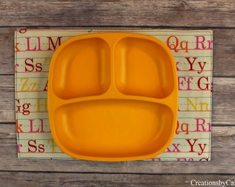 Snack Mats for Children, Gift Idea, Mini Placemats, Learning Tool for Toddlers, Table Linens, Small Placemats, Alphabets, Fun Decor