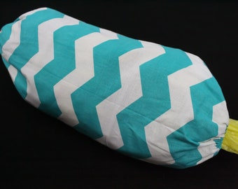 Grocery Sack Saver, Gifts under 20, Free Shipping, Bag Keeper, Chevrons, Grocery Bag Holder, Fabric, Bag Caddy, For Saving Plastic Bags