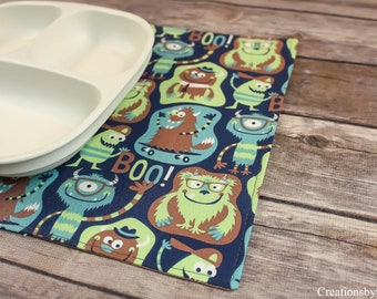 Snackmats, For Children, Gift Ideas, For Toddlers, Dining Room Decor, Small Table Mat, Table Linens, Handmade, Small Placemats, Washable