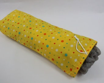 Polka Dot, Grocery Sack Holder, Kitchen Organizer, Bag Storage, Plastic Bag Dispenser, Fabric Storage, Hostess Gift Idea, Spare Bag Holder