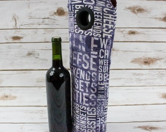 Wine Bag, For Wine Lovers, Bottle Bag, Best Friends Gift, Wine Tote, Wine Carrier, Carry Tote, Gift Idea, Wine Lovers, Hostess Present